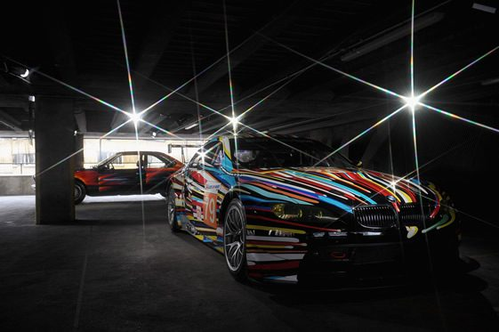BMW Art Car Collection, London