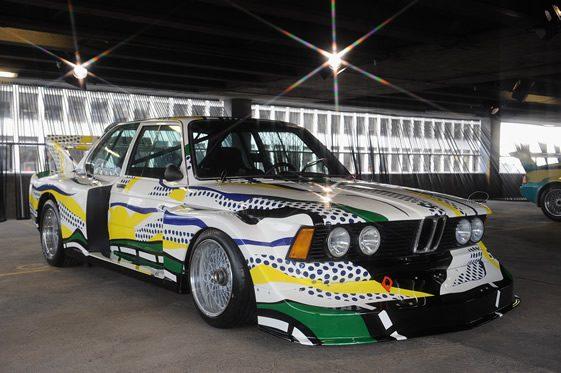 bmw art car collection london we heart. Black Bedroom Furniture Sets. Home Design Ideas