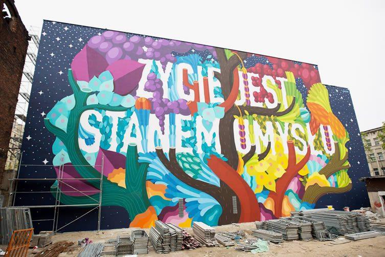Lodz Murals