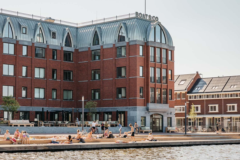 Hotel BOAT&CO Amsterdam, Luxury Aparthotel on Amsterdam Houthaven