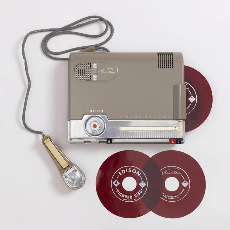 Edison Voicewriter Dictaphone, 1953