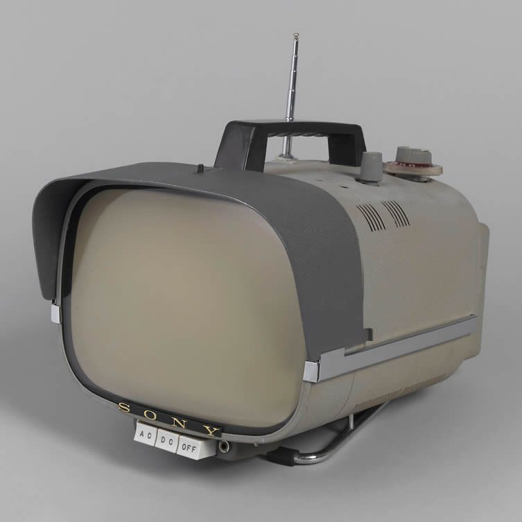 TV8-301 Portable Television, 1959 formed