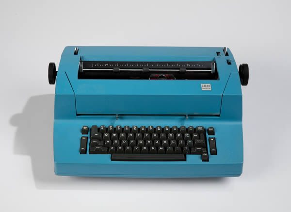 Bob Greenberg Selects at Cooper Hewitt, Smithsonian Design Museum, New York: Correcting Selectric II, model 895 Typewriter And Typing Elements, 1973