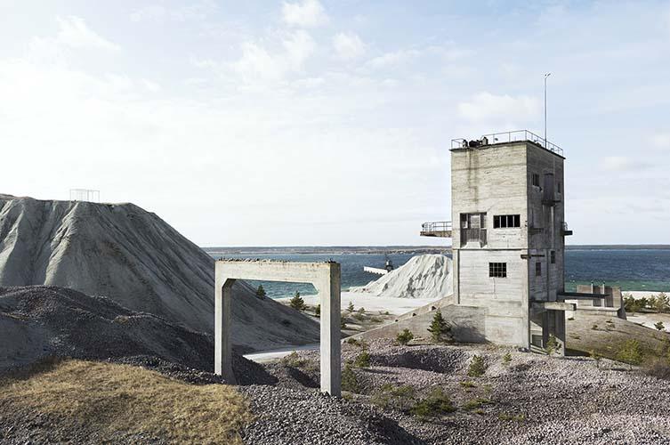 Fabriken Furillen, Gotland Island