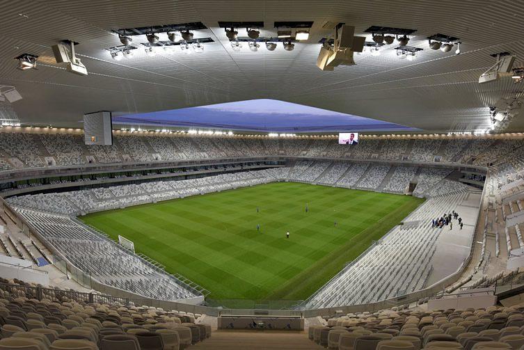 Nouveau Stade de Bordeaux by Herzog & de Meuron