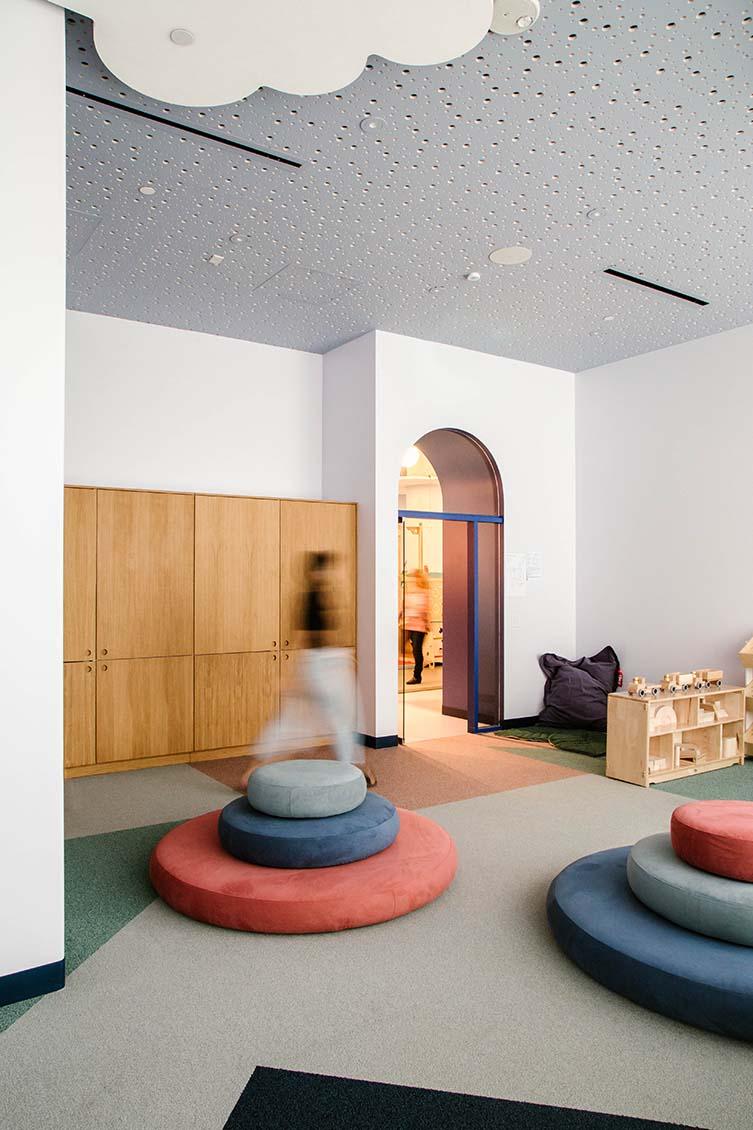 Brella Los Angeles, Contemporary Child Care Centre by Project M Plus