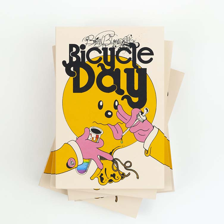 BRIAN BLOMERTH'S BICYCLE DAY, Published by ANTHOLOGY EDITIONS
