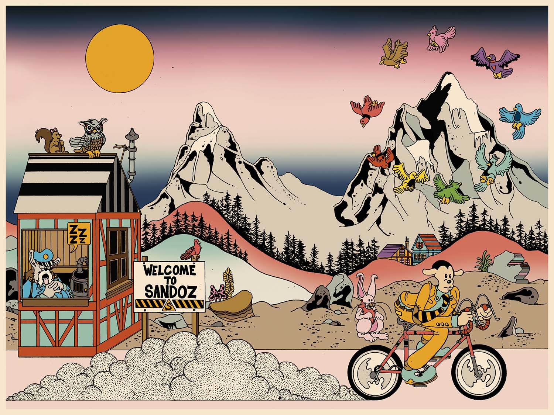 Brian Blomerth chronicles Albert Hofmann's seminal first trip in