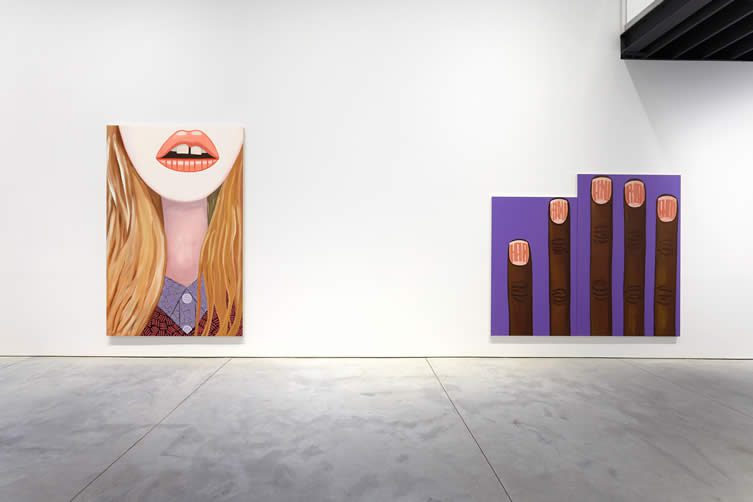 Brian Calvin at Anton Kern Gallery New York