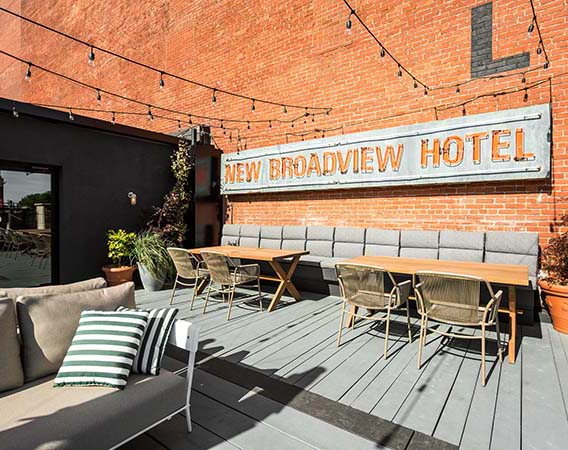 The Broadview Hotel Toronto, and The Civic, Designed by DesignAgency
