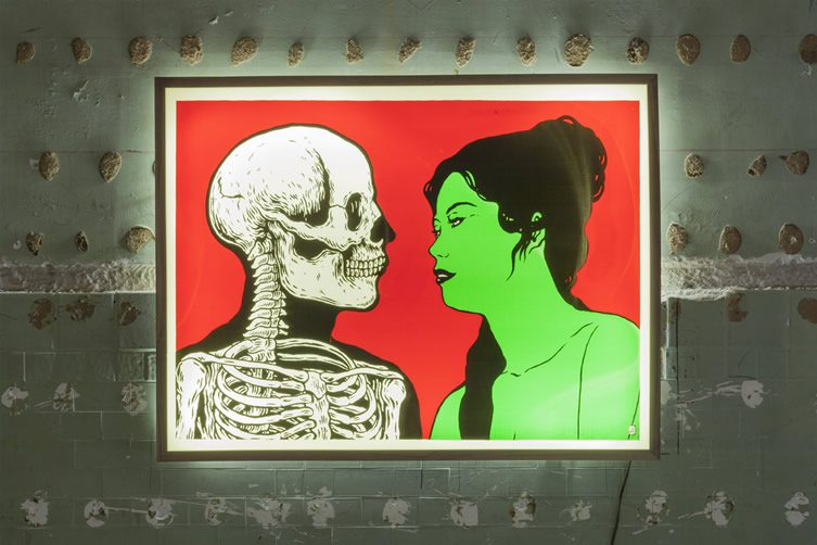 Broken Fingaz Journey Galactiko, Howard Griffin Gallery Los Angeles