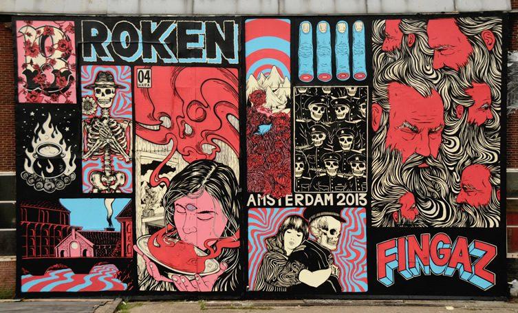 Broken Fingaz in Amsterdam