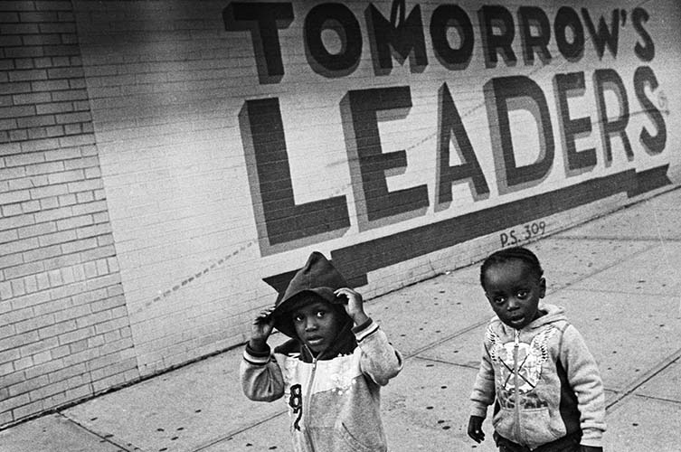 Andre D. Wagner Tomorrows Leaders, Bed Stuy, Brooklyn, 2013: Brooklyn Photographs Now