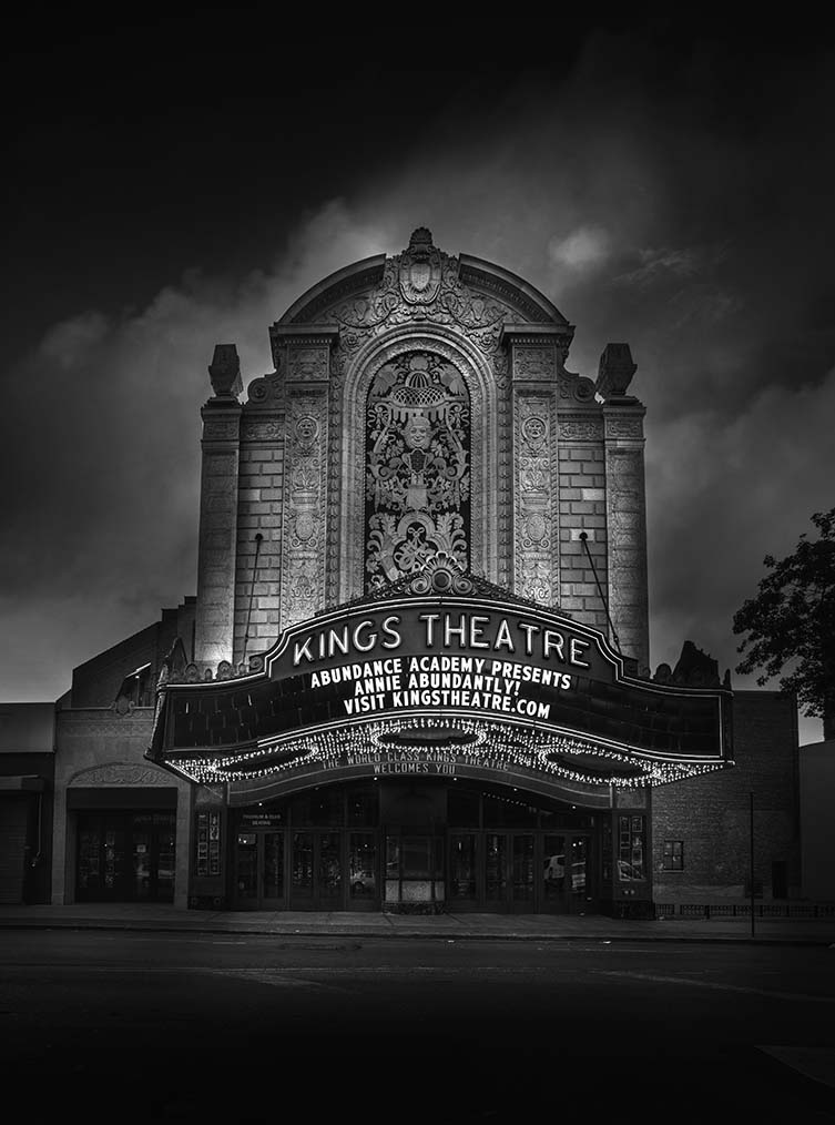 Jean Michel Berts, Kings Theater, n.d.: Brooklyn Photographs Now