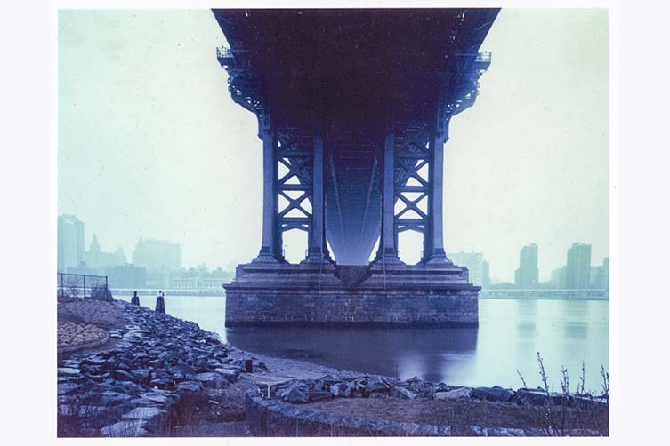 Todd Boebel Mahattan Bridge from Brooklyn: Brooklyn Photographs Now