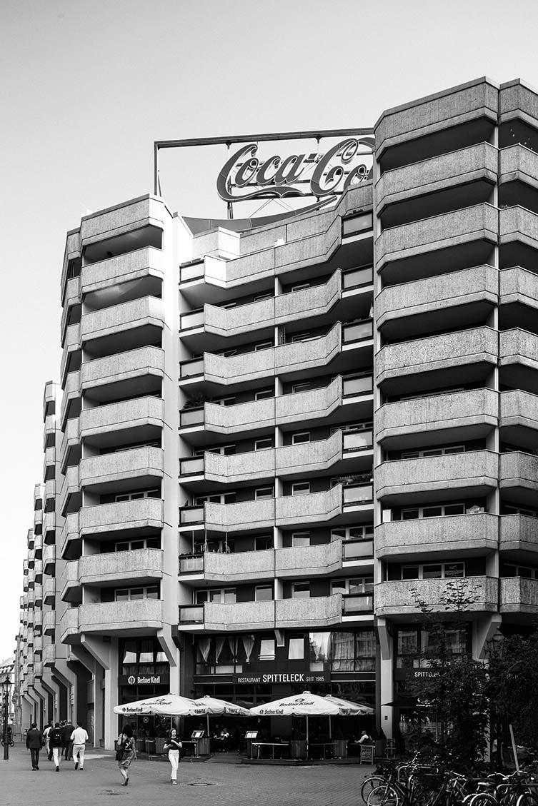 Brutalist Berlin: Spitteleck, VEB Bau- und Montagekombinat (Eckart Schmidt), 1980–85