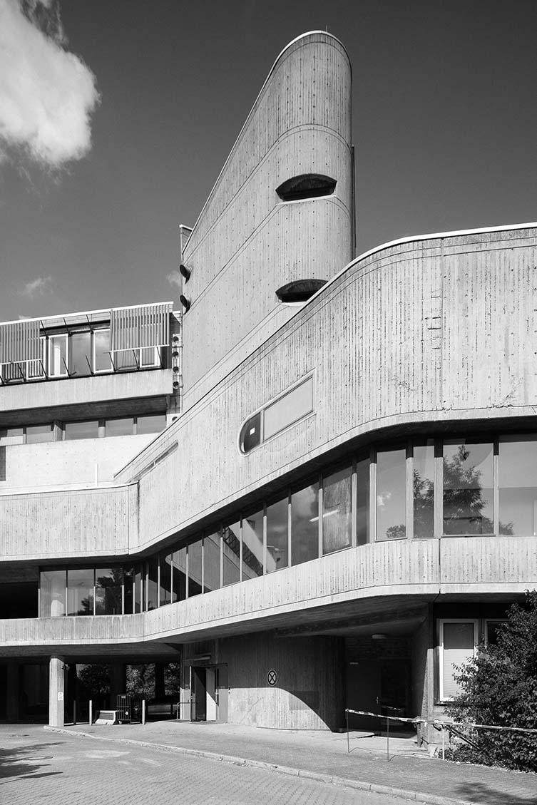 Institut für Hygiene und Mikrobiologie, Fehling+Gogel, 1966–74