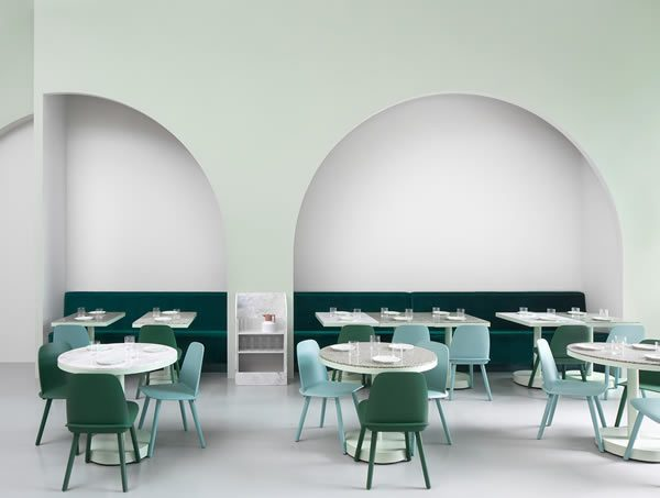 The Budapest Café Chengdu, Wes Anderson-Inspired Restaurant China