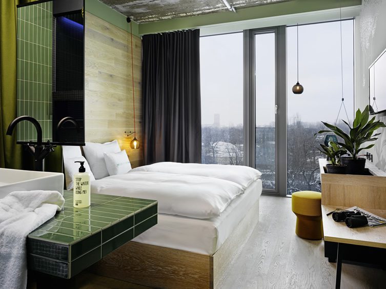 Best design hotels for under 100 for Top design hotels berlin