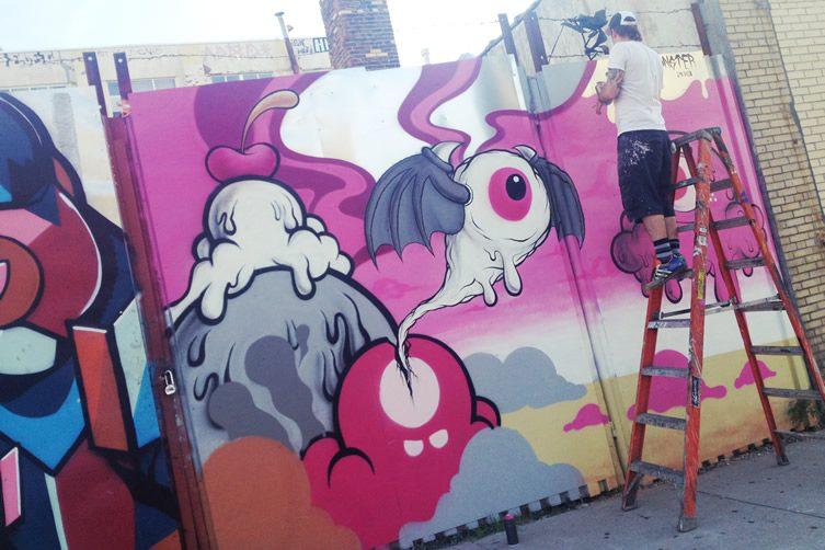 Buff Monster In Brooklyn