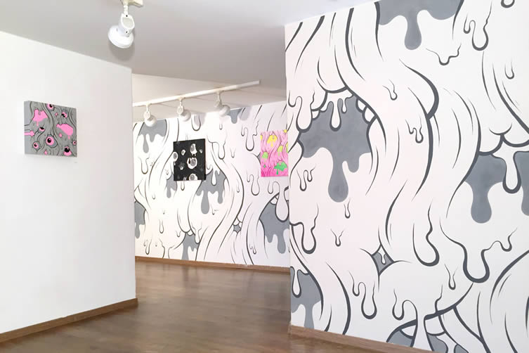 Buff Monster, Can't Stop the Melt Galo Art Gallery Turin Italy