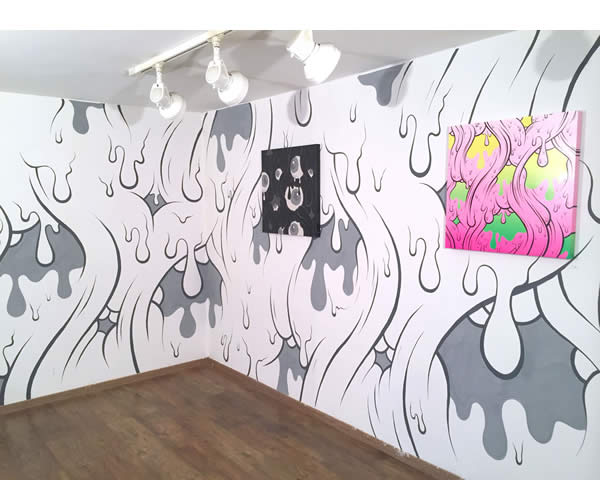Buff Monster, Can't Stop the Melt at Galo Art Gallery, Torino