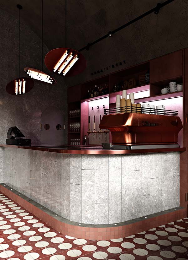 Budapest Bar Designed by Roman Plyus