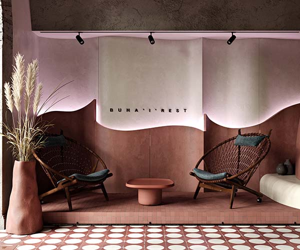 Buhairest Budapest Bar Designed by Roman Plyus Art Consultant Angelica Chernenko