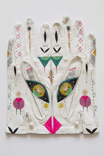 Bunnie Reiss Cosmic Animal Gloves