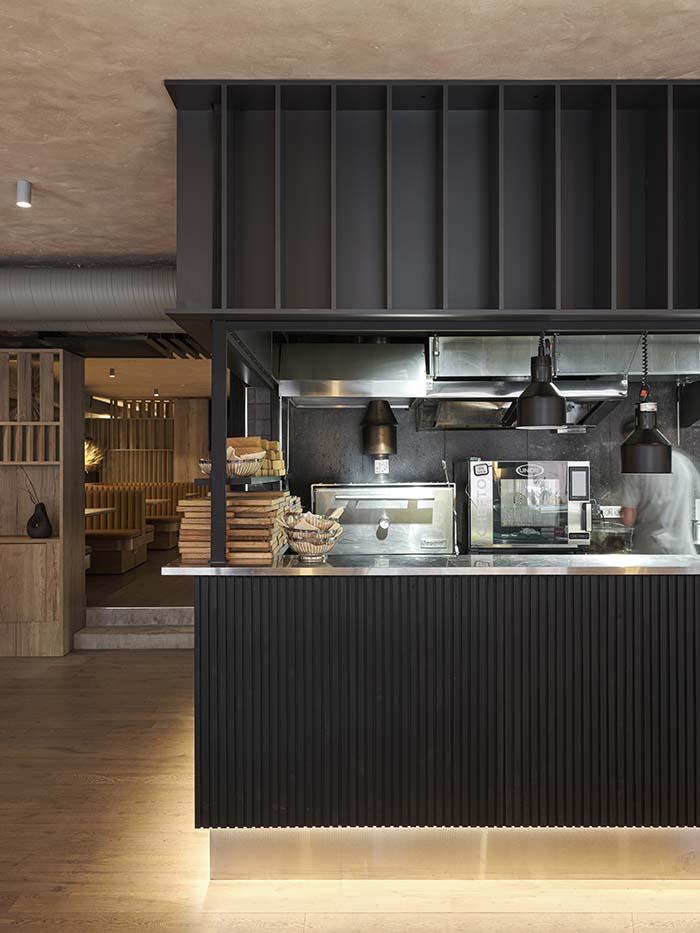 St. Petersburg Restaurant Designed by MODGI Group