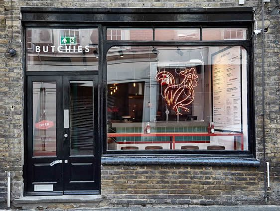 Butchies Rivington Street London, Shoreditch Fried Chicken