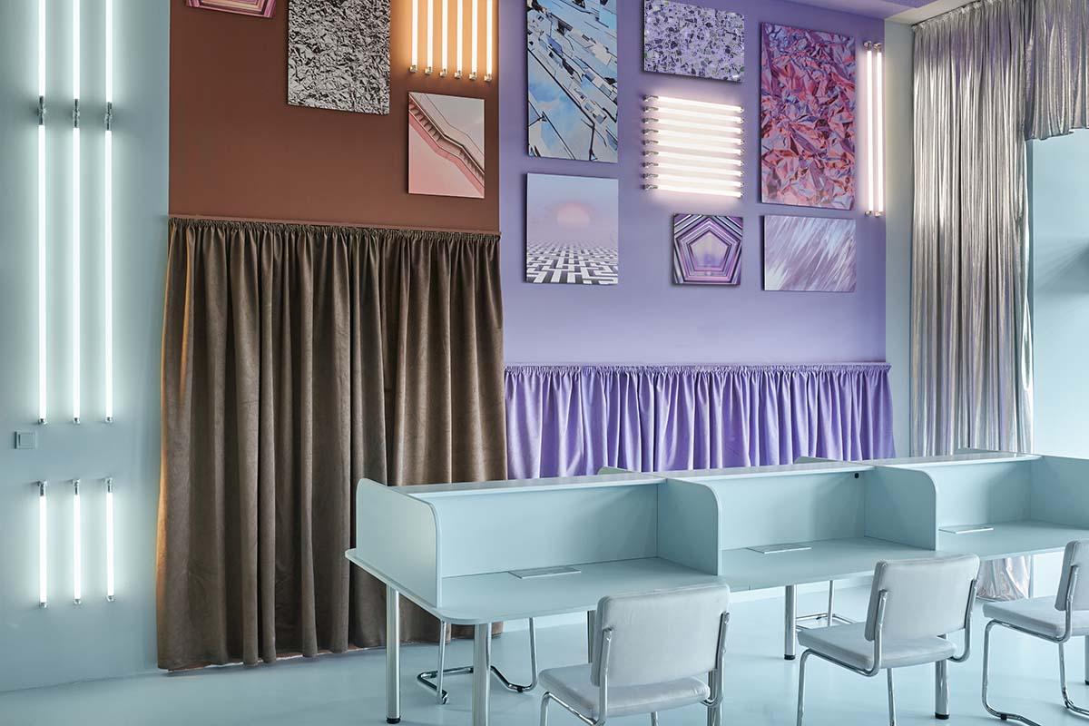 Cabinette Valencia Coworking Space by Masquespacio Design