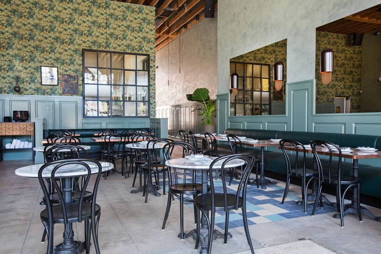Cafe Birdie and Good Housekeeping, Highland Park Los Angeles Restaurant Speakeasy