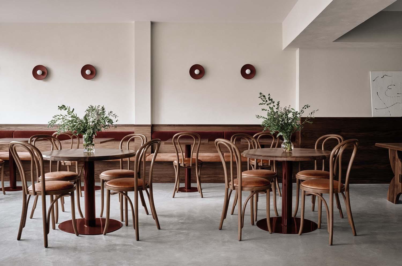 Café Chez Teta Montreal, Le Plateau-Mont-Royal Lebanese Restaurant by Ivy Studio