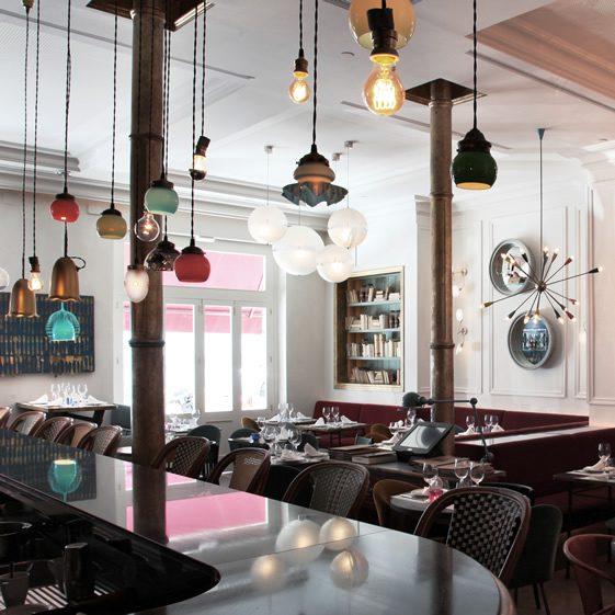 Caf kafka el born we heart for Design interior cafe vintage