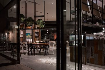 Café Showroom, Songshan Cultural and Creative Park