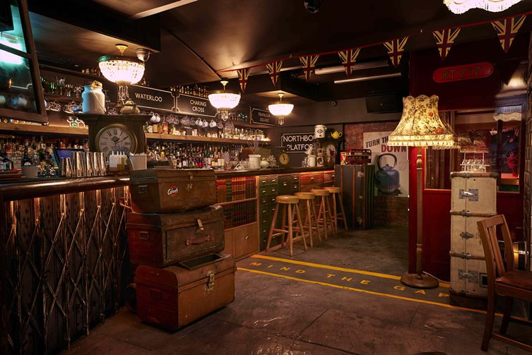 Cahoots Underground Bar London