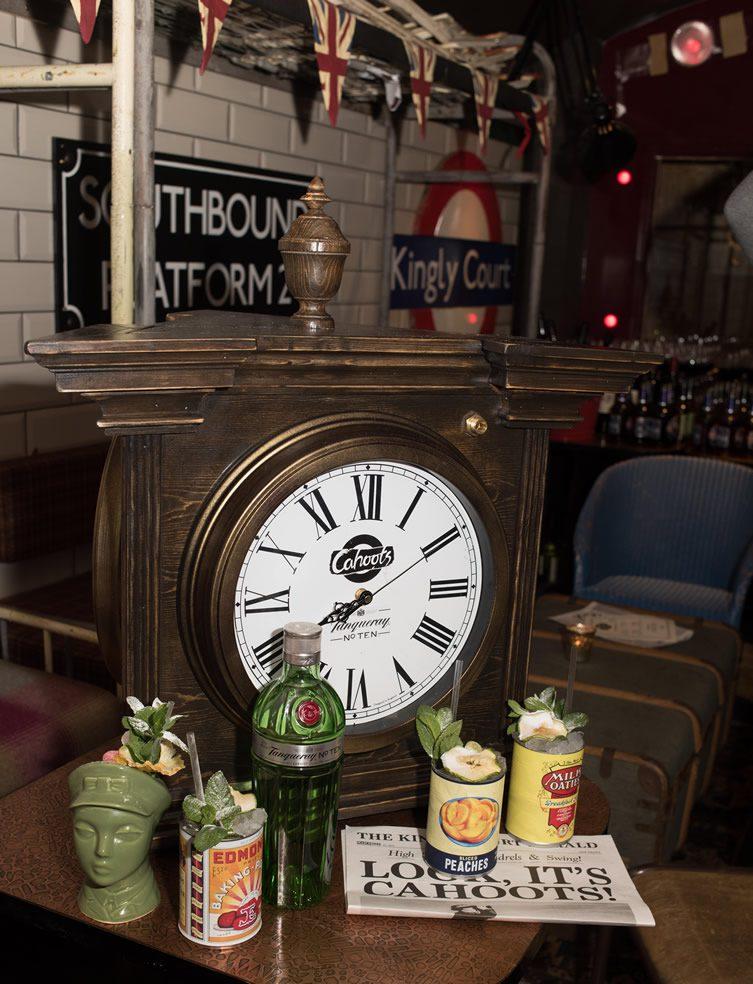 Cahoots Underground Bar, London