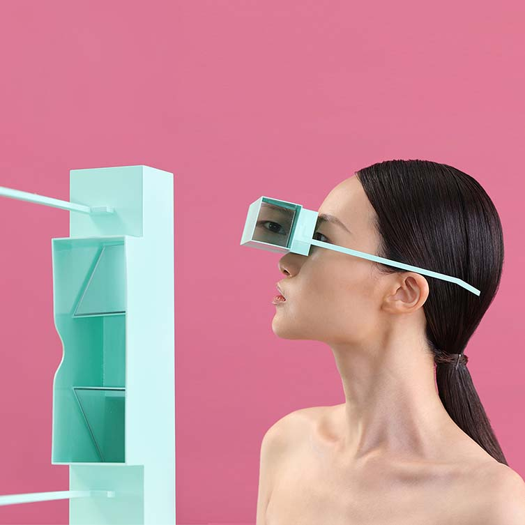 View Change Glasses by Luo Shuzhen is Winner in Fashion and Travel Accessories Design Category, 2018 - 2019.