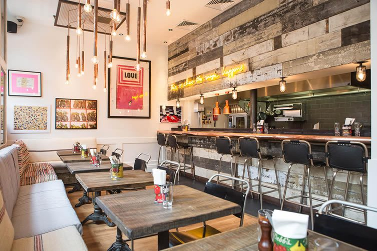 Cambridge Street Caf At Artists Residence Pimlico London