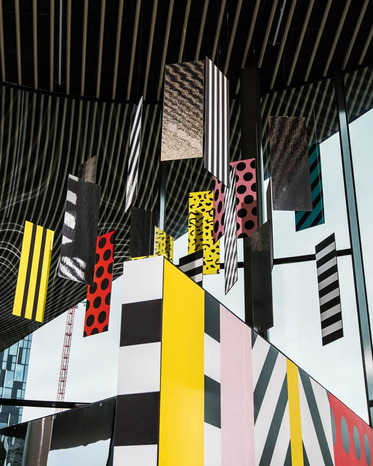 Camille Walala at NOW Gallery Greenwich Peninsula