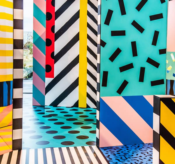 Camille Walala, WALALA X PLAY at NOW Gallery London