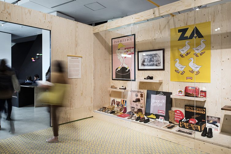 Life on Foot: Camper at the Design Museum