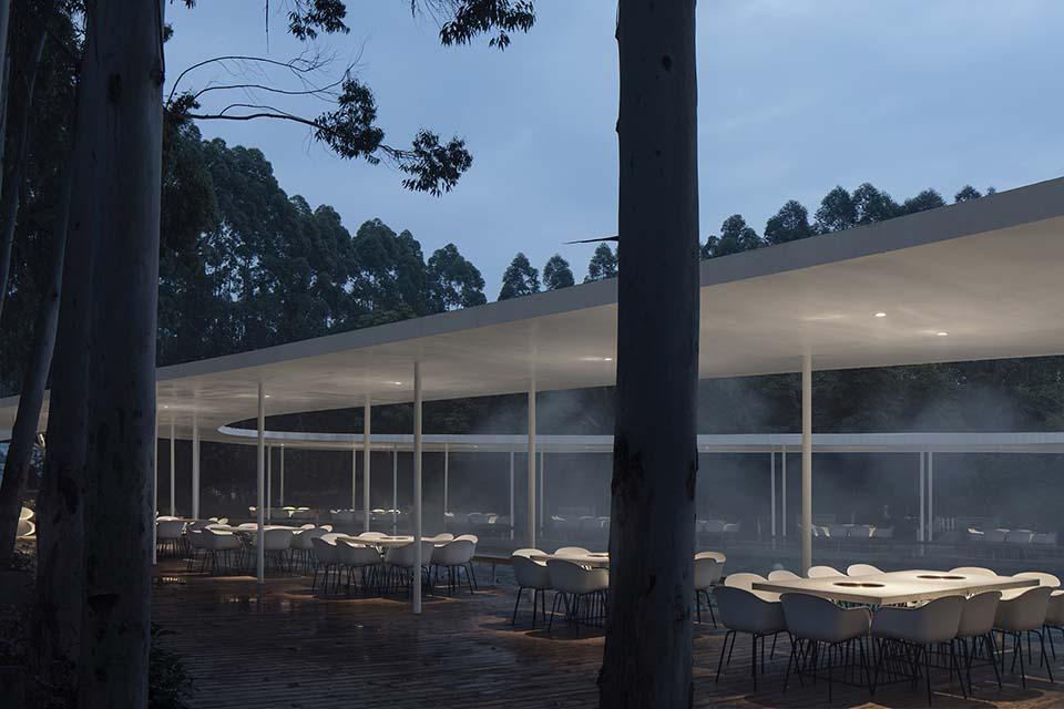Garden Hotpot Restaurant, MUDA Architects