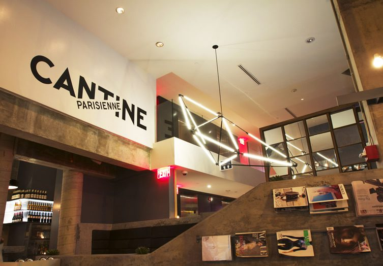 Cantine Parisienne, New York