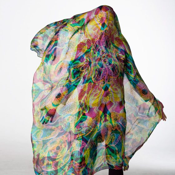 Carnovsky's RGB Scarves Collection