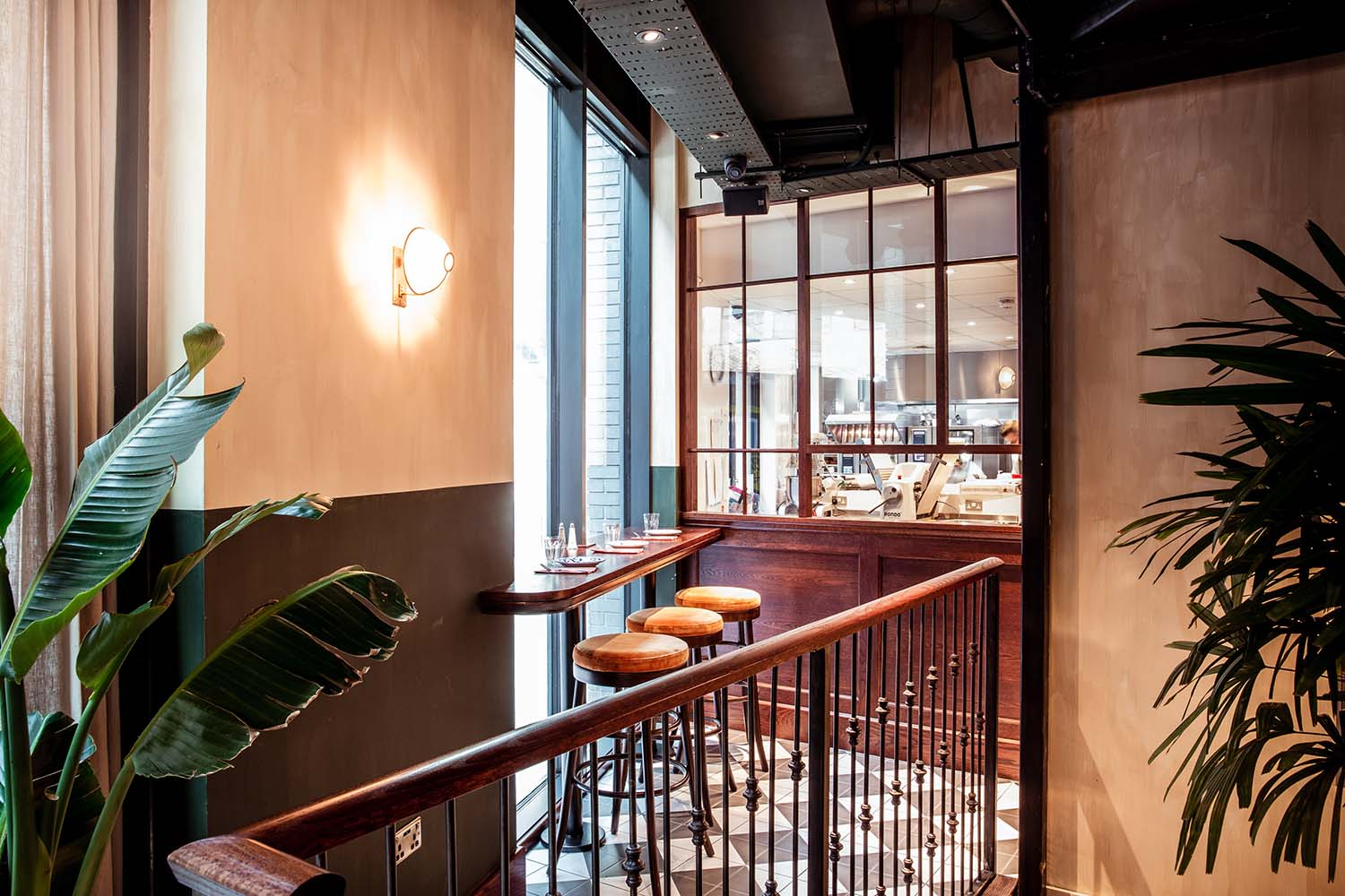 Casa do Frango Shoreditch, Piri Piri Chicken Restaurant Designed by A-nrd studio