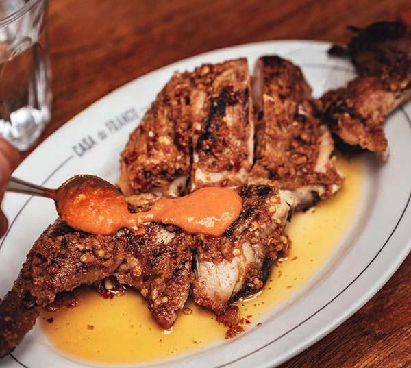 Casa do Frango Shoreditch, Piri Piri Chicken Restaurant Designed by A-nrd studio