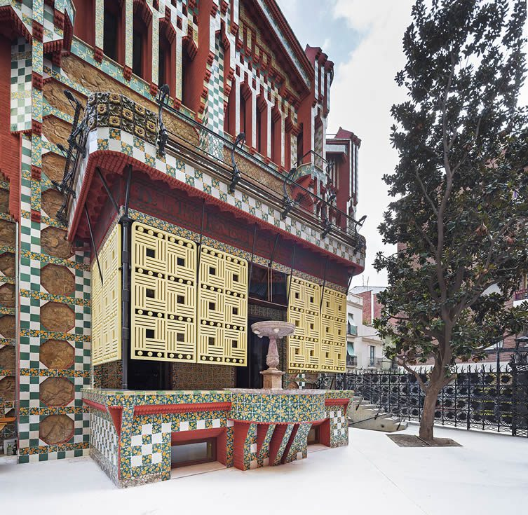 Casa Vicens Gaudi's First House