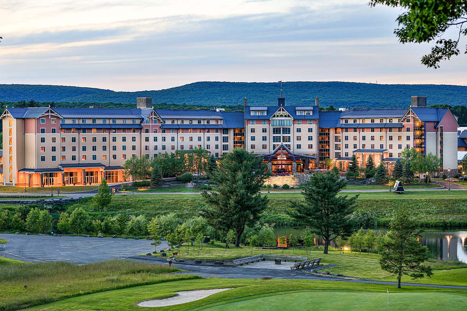 Mount Airy Casino Resort set amid the stunning Pocono Mountains
